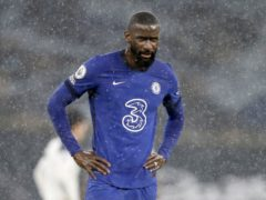 Antonio Rudiger was involved in a training ground bust-up with Kepa Arrizabalaga (Kirsty Wigglesworth/PA)