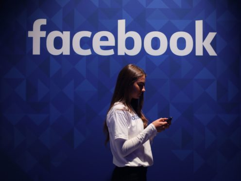 Facebook said personal data was 'scraped' (Niall Carson/PA)