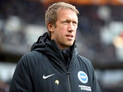 Graham Potter takes Brighton to Bramall Lane on Saturday evening (Nick Potts/PA)