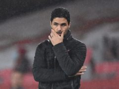Arsenal manager Mikel Arteta has backed the club's owners (Andy Rain/PA)