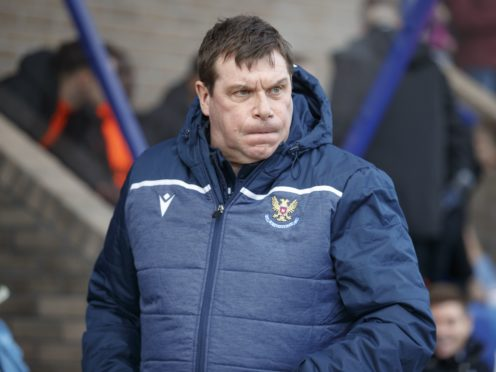 Kilmarnock manager Tommy Wright (Steve Welsh/PA)