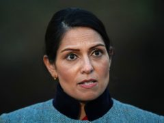 Home Secretary Priti Patel has held discussions with Cabinet colleagues on how to address the issue of dog theft (Aaron Chown/PA)