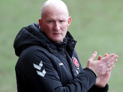 Fleetwood manager Simon Grayson is preparing to face Rochdale (Richard Sellers/PA)