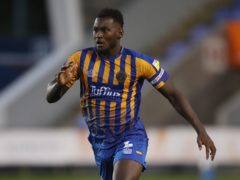 Aaron Pierre could miss the rest of Shrewsbury's season. (Nick Potts/PA)