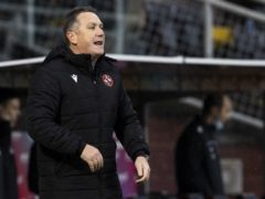 Dundee United boss Micky Mellon is expecting a tough challenge against Ross County (Alan Harvey/PA)
