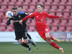 Dan Kemp, right, scored as Leyton Orient beat Barrow (Yui Mok/PA)