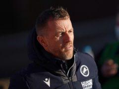 Millwall manager Gary Rowett (Zac Goodwin/PA)