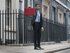 Chancellor Rishi Sunak announced the Recovery Loan Scheme at the Budget (Stefan Rousseau/PA)