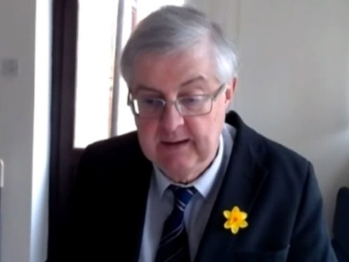 First Minister Mark Drakeford said Welsh Labour would not support holding an independence referendum unless Plaid Cymru won a majority in the Senedd (House of Commons/PA)