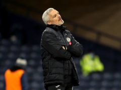 St Mirren manager Jim Goodwin handed immediate two-game touchline ban (Jane Barlow/PA)