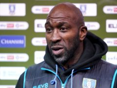 Sheffield Wednesday manager Darren Moore has been laid low by pneumonia (Zac Goodwin/PA)