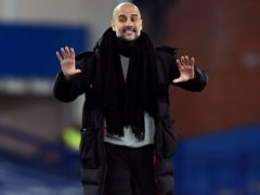 Pep Guardiola would have no complaints if Manchester City do not sign a striker this summer (Michael Regan/PA)