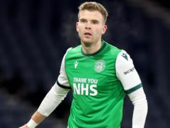 Chris Cadden misses out for Hibernian (Jeff holmes/PA)