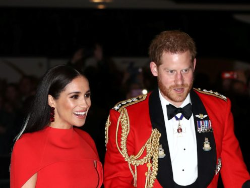 Security for the Duke and Duchess of Sussex was a key issue for them as they stepped down as senior royals (Simon Dawson/PA)