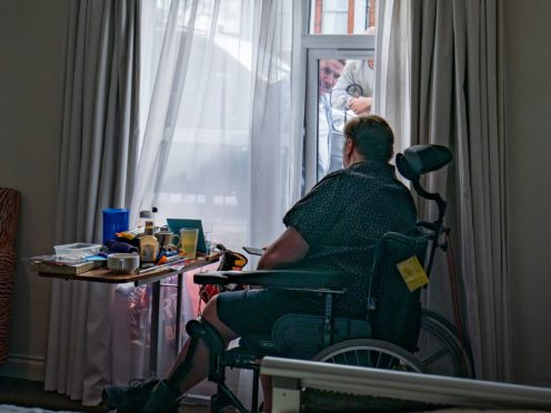 Campaigners argued previously that by imposing a blanket ban, regardless of the health of the individual, the Government was acting unlawfully (Aaron Chown/PA)