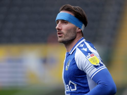 Alex Rodman is ready to return for Bristol Rovers (Richard Sellers/PA)