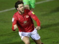Morecambe's Cole Stockton scored in the win over Oldham (David Davies/PA)