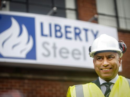 Liberty Steel boss Sanjeev Gupta said the company owes 'many billions' to Greensill Capital (Danny Lawson/PA)
