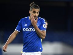 Dominic Calvert-Lewin is sidelined by an abductor injury (Peter Powell/PA)