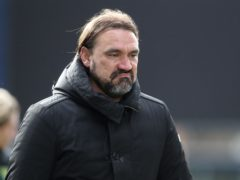 Norwich manager Daniel Farke rued missed chances in the draw at Preston (Martin Rickett/PA)