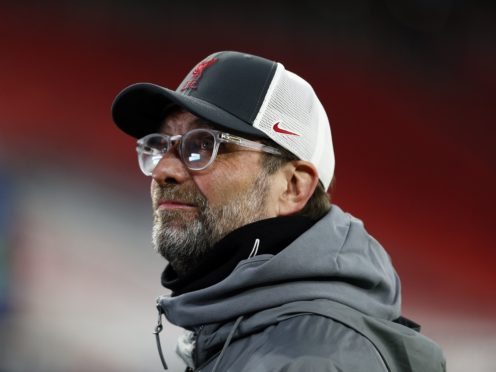 Jurgen Klopp believes his side's recent experience of challenging for honours will help them in the race for the top four (Trenka Attila/PA)