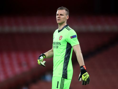 Bernd Leno will hope to help Arsenal qualify for the Europa League semi-finals on Thursday (Adam Davy/PA)