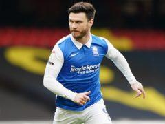 Birmingham striker Scott Hogan's season has been ended by a hip injury (Tess Derry/PA)
