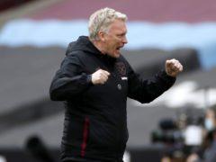 West Ham manager David Moyes favours a Champions League push over a relegation battle (Paul Childs/PA)