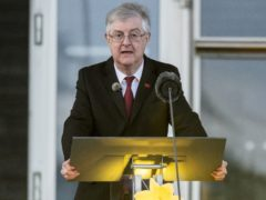 First Minister Mark Drakeford has denied that his decision to bring forward the easing of some restrictions in Wales by two weeks is to do with the forthcoming Senedd election (Matthew Horwood/PA)