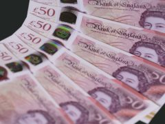 New research suggests that pay awards in the first quarter of 2021 were less than half the value of those concluded in the same period a year ago (Bank of England/PA)