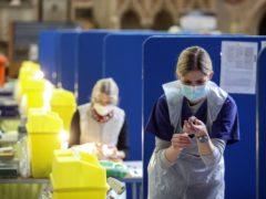 Coronavirus vaccines being prepared (Steve Parsons/PA)
