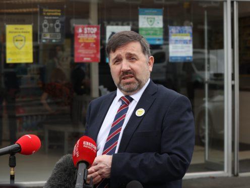 Health Minister Robin Swann (Liam McBurney/PA)