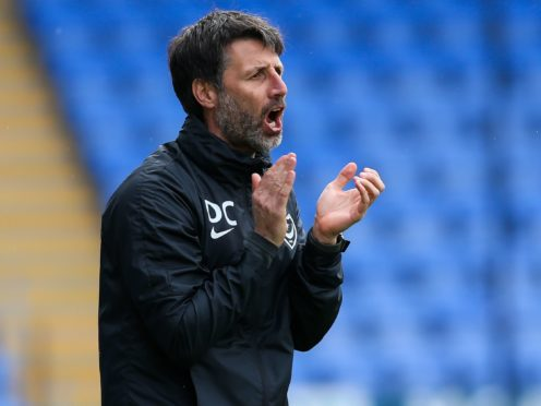 Portsmouth manager Danny Cowley was full of praise for Ronan Curtis (Barrington Coombs/PA)