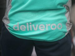Deliveroo workers have gone on strike in a dispute over pay and conditions (Niall Carson/PA)