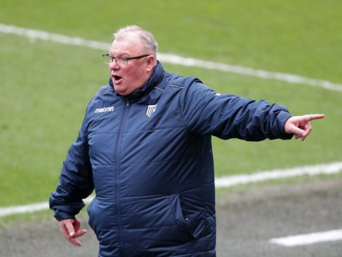 Gillingham manager Steve Evans was left to rue his side's missed chances (Richard Sellers/PA).