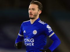 James Maddison is set to return for Leicester (Mike Egerton/PA)