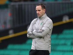 John Kennedy is acting as Celtic interim boss (Andrew Milligan/PA)