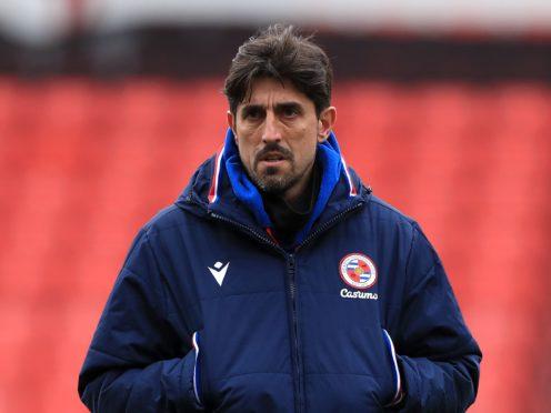 Veljko Paunovic's Reading shared the spoils with Cardiff (Mike Egerton/PA)