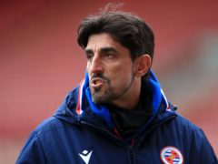 Reading manager Veljko Paunovic praised his side's display against Derby (Mike Egerton/PA).