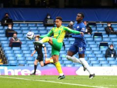 West Brom forward Matheus Pereira scored twice at Stamford Bridge (Clive Rose/PA)