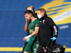 Sheffield United's George Baldock would have been better protected by a temporary concussion substitute system, the PFA has said (Lindsey Parnaby/PA)