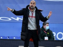 Pep Guardiola made six changes for Manchester City's 2-0 win at Leicester in order to avoid player burnout (Rui Vieira/PA)