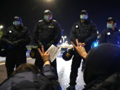 A dispersal order to direct people and groups to leave the city centre of Bristol has been issued as demonstrations were held across England against plans to increase police powers (Andrew Matthews/PA)