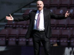 Burnley manager Sean Dyche felt his side should have had two second-half penalties in the 3-2 defeat at Southampton (Andrew Boyers/PA Images).