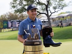Jordan Spieth is joint second favourite for the Masters after winning the Valero Texas Open on Sunday (Michael Thomas/AP)