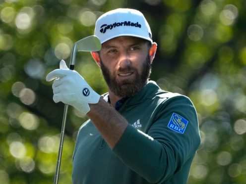 Dustin Johnson is aiming to become just the fourth player to win back-to-back Masters titles (David J Phillip/AP)