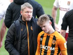 Grant McCann, left, was delighted after Keane Lewis-Potter, right, helped inspire a win over Plymouth (Richard Sellers/PA)