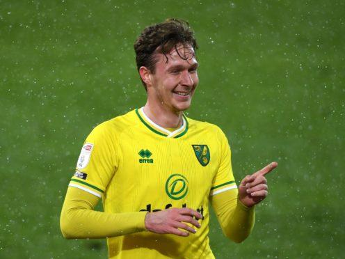 Kieran Dowell netted a stunning winner for Norwich at Derby (Joe Giddens/PA)
