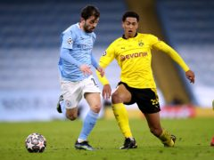 Manchester City and Borussia Dortmund will be back in action on Wednesday night (Nick Potts/PA)