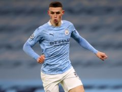 Phil Foden was outstanding for Manchester City in the Champions League (Nick Potts/PA)